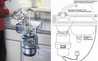 Измельчитель пищевых отходов для раковины: принцип работы, установка, как выбрать диспоузер