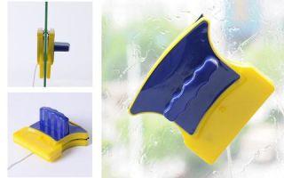 Правила выбора магнитной щётки для мытья окон с двух сторон: рекомендации специалистов