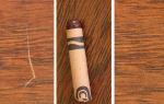 Жидкое покрытие и восковый карандаш для реставрации мебели: заделка сколов и ремонт деревянных поверхностей