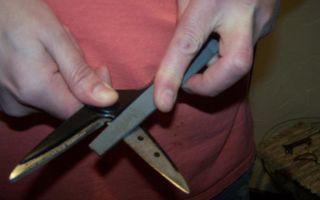 Как заточить ножницы: заточка в домашних условиях иголкой, напильником и точильным бруском