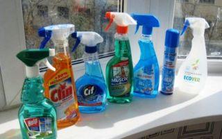 Средство для чистки стекол: как выбрать или сделать жидкость для мытья окон в домашних условиях