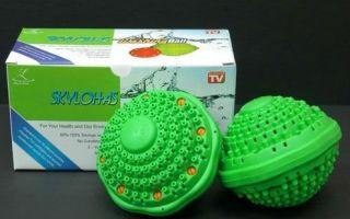 Шарики для стирки пуховиков: магнитный и турмалиновый, массажный и теннисный