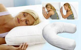Как правильно выбрать ортопедическую подушку для сна: сделать валик, можно ли спать на боку, спине и животе