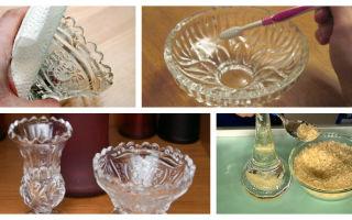 Как почистить хрусталь: способы избавления посуды от желтизны и белого налёта