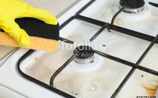 Как почистить газовую плиту в домашних условиях: народные средства для решетки, духовки и конфорок