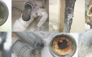 Устранение засора в канализационных трубах в домашних условиях: причины засора, методы пробивки