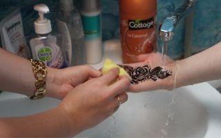 Как смыть хну с волос и кожи, способы быстро вывести мехенди