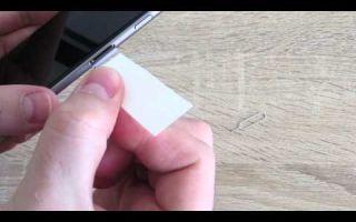 Как вытащить симку из айфона 4s, 5s, 6s и других моделей: стандартный и народный способы