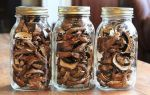 Хранение сушёных грибов в домашних условиях: как и в чём хранить, срок годности продукта