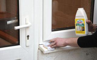 Рекомендации, чем мыть пластиковые окна в домашних условиях: как очистить стекла и подоконники