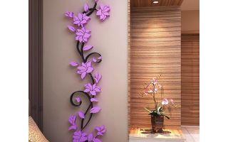 Как украсить стену в комнате своими руками: картины, цветы и фотографии