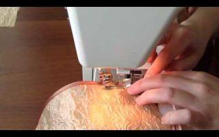 Самостоятельный подшив тонких штор косой бейкой: последовательность выполнения работы в домашних условиях