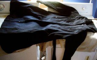 Стирка пальто из шерсти или кашемира в стиральной машинке автомат: методы и рекомендации
