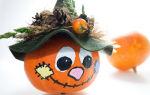 Подготовка помещения к хеллоуину, методы сушки тыквы и изготовление из неё декоративных поделок своими руками