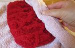Вязаная одежда: как растянуть шерстяную шапку или как постирать вещь, чтобы она села