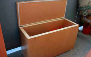 Ящик для хранения овощей на балконе: особенности изготовления и утепления контейнера своими руками
