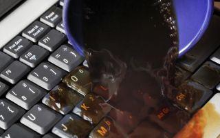 Что делать, если залил клавиатуру ноутбука водой или другой жидкостью: просушка и демонтаж клавиш