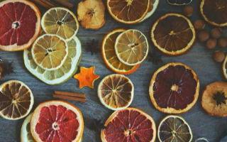 Рекомендации, как засушить апельсины для декора: подготовка цитрусовых, методы сушки фруктов, идеи поделок