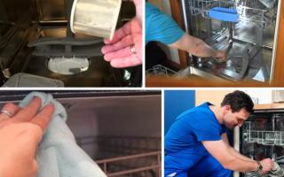 Как почистить посудомоечную машину в домашних условиях: правила ухода и порядок ручкой очистки