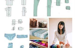 Как правильно складывать футболки: принципы хранения, как компактно сложить вещи в шкафу, полезные аксессуары