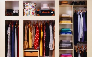 Порядок в шкафу: как поддерживать чистоту и правильно разместить вещи на полках