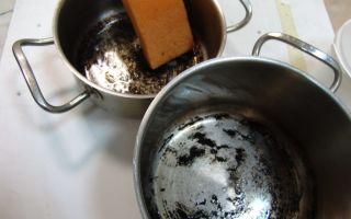 Рекомендации, как отмыть пригоревшую кастрюлю из нержавейки до блеска в домашних условиях