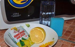 Как почистить микроволновку: при помощи уксуса, соды, лимонной кислоты за 5 минут