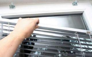Как снять жалюзи: конструкции штор, как снимать ламели с пластикового окна