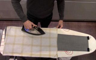 Как правильно гладить утюгом брюки со стрелками: поэтапная инструкция глажки и рекомендации
