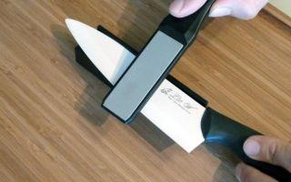 Как точить керамические ножи: особенности и свойства, три способа заточки в домашних условиях