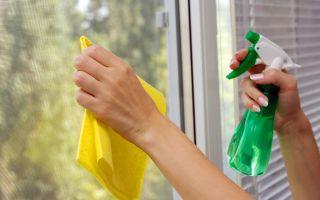 Чистка окон: как помыть без разводов быстро, народные средства для чистки стёкол