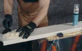 Чем можно отмыть и оттереть застывшую монтажную (строительную) пену: средства, инструкция по применению