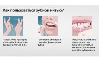 Нить для чистки зубов: виды аксессуара, рекомендации, как часто нужно чистить зубную эмаль