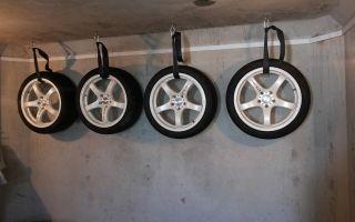 Рекомендации, как правильно хранить зимние и летние колёса на дисках в гараже или на балконе
