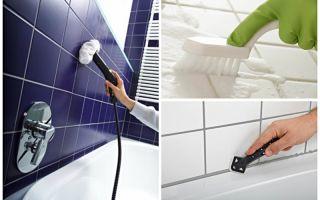Как почистить швы от грязи и грибка между плиткой в ванной: профессиональные и народные средства