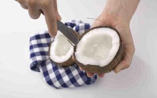 Как почистить кокос: различные способы и полезные рекомендации по разделке ореха и получении мякоти