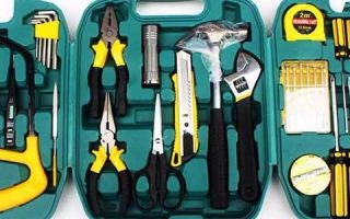 Набор инструмента для дома: список устройств для ремонта квартиры и бытовых нужд