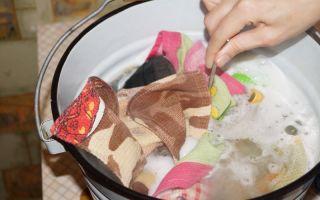 Кухонные полотенца: стирка, замачивание и кипячение текстиля с жирными пятнами, как отстирать следы от сока