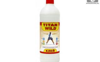 Клей титан: действие и разновидности, технические характеристики и применение, места покупки titan wild