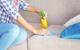 Чистка обивки кресел и диванов: народными средствами (содой или уксусом), типы пятен и способы избавления