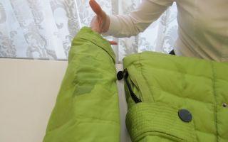 Советы, как убрать разводы на пуховике после стирки: чистка одежды в домашних условиях