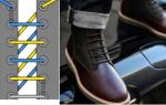 Как завязать шнурки: чтобы не развязывались, на кроссовках и ботинках, способы шнуровки на мужской обуви