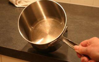 Как очистить пригоревшее варенье и пригорелый сахара в кастрюле из нержавейки или алюминия